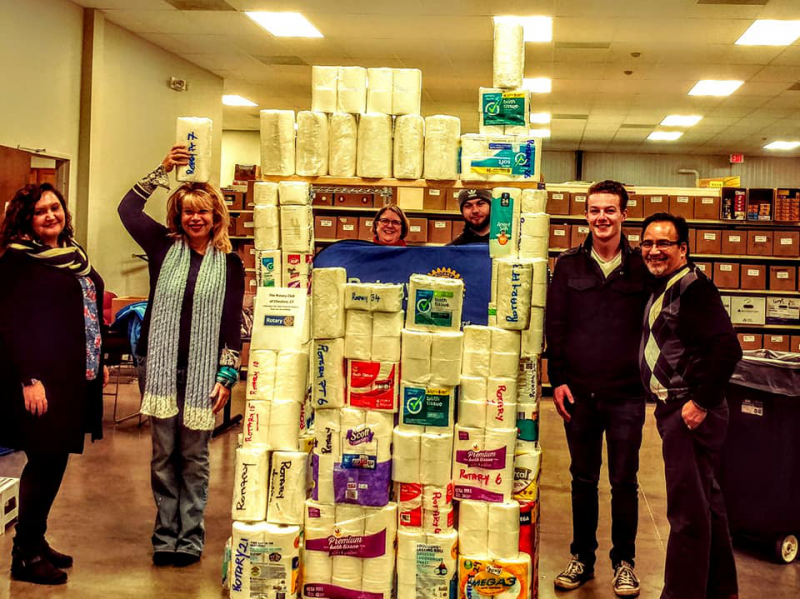 Toilet Paper FUN-raiser for the Food Pantry needs