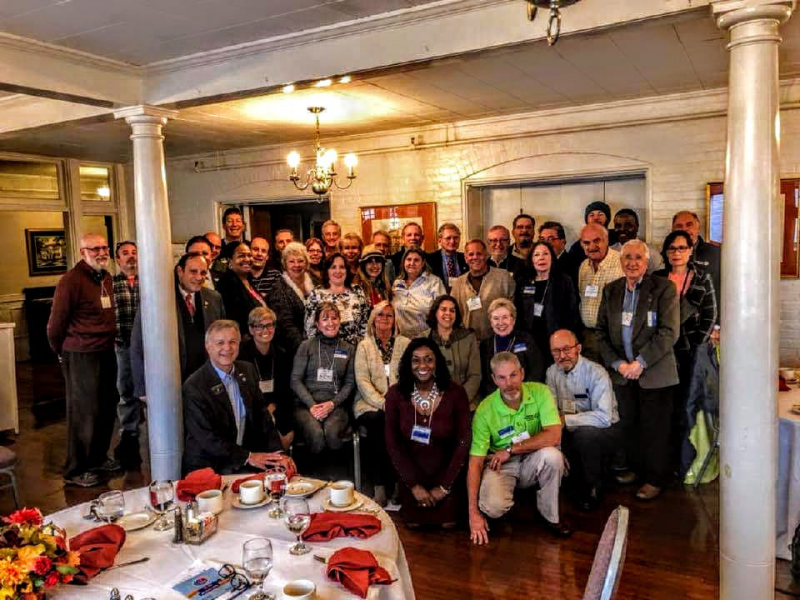 We are part of a global team -  other Connecticut Rotarians beyond our Club