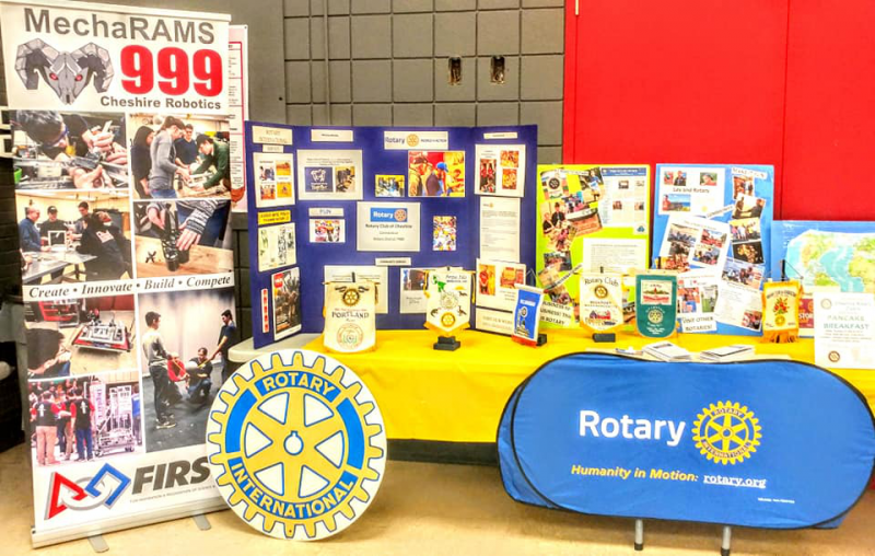 Ask us About Rotary!